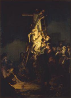 """Rembrandt """"Die-Kreuzabnahme"""" 158 x 117 cm"""