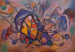 "Wassily Kandinsky ""Abstract Cmposition"" 97 x 68 cm"