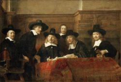 """Rembrandt """"Die-Staalmeesters"""" 191.5 x 279 cm"""