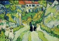"Vincent van Gogh ""Treppe in Auvers"", 51 x 71 cm"