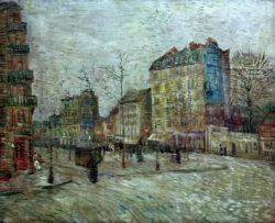 "Vincent van Gogh ""Boulevard de Clichy"" 45,5 x 55 cm"