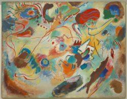 "Wassily Kandinsky ""Entwurf Zu Komposition"" 99 x 79 cm"