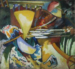 "Wassily Kandinsky ""Improvisation"" 106 x 97 cm"