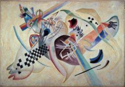 "Wassily Kandinsky ""Komposition Auf Weiss"" 138 x 95 cm"