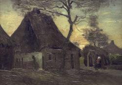 "Vincent van Gogh ""Boerenhuis 32 x 46 cm"