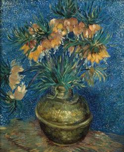 """Vincent van Gogh """"Kaiserkronen in einer Kupfervase"""", 73,5 x 60,5 cm"""