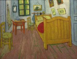 """Vincent van Gogh """"Das Schlafzimmer"""" (La Chambre à coucher) 72 x 90 cm"""