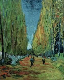 """Vincent van Gogh """"Les Alyscamps"""" 92 x 73,5 cm"""
