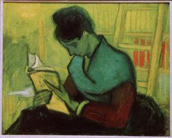 """Vincent van Gogh """"Une Liseuse de romans"""" (Romanleserin), 73 x 92 cm"""