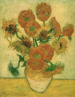 """Vincent van Gogh """"Sonnenblumen"""" 100 x 76 cm"""