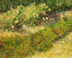 """Vincent van Gogh """"Schmetterlinge und Blumen"""" 51 x 61 cm"""