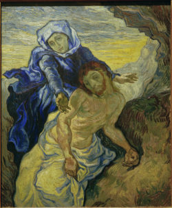 "Vincent van Gogh ""Pietà"". 73 x 60,5 cm"