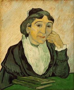 """Vincent van Gogh """"Die Arlésienne"""".– 60 x 50 cm"""