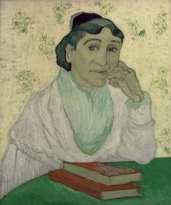 """Vincent van Gogh """"Die Arlésienne"""".– 60 x 54 cm"""