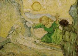 """Vincent van Gogh """"Die Wiedererweckung des Lazarus"""", 50 x 65 cm"""