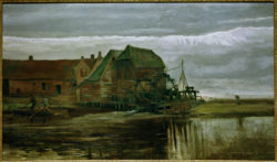 """Vincent van Gogh """"Wassermuehle bei Gennep"""" 85 x 151 cm"""