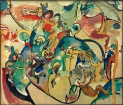 """Wassily Kandinsky """"Allerheiligen"""" 99 x 86 cm"""