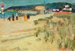 """Wassily Kandinsky """"Binz Auf Rügen"""" 24 x 33 cm"""