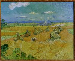 "Vincent van Gogh ""Ernte"", 73,6 x 93 cm"