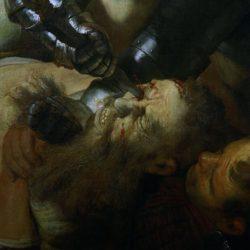 "Rembrandt ""Die-Blendung-Simsons"" 206 x 276 cm"