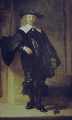 "Rembrandt ""Porträt-von-Andries-de-Graeff"" 199 x 123.5 cm"