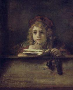 """Rembrandt """"Titus"""" 77 x 63 cm"""