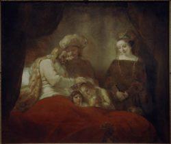 """Rembrandt """"Jakobs-Segen"""" 173 x 209 cm"""