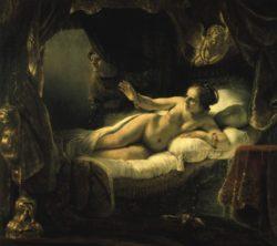 """Rembrandt """"Danae"""" 185 x 203 cm"""