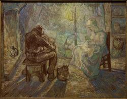 """Vincent van Gogh """"Abend"""". 74 x 94 cm"""