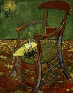 """Vincent van Gogh """"Gauguins Stuhl"""" 90,5 x 72 cm"""