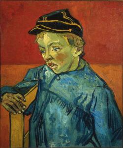 """Vincent van Gogh """"Bildnis Camille Roulin als Schueler"""", 63,5 x 54 cm"""