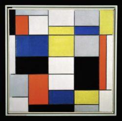 """Piet Mondrian """"Composition"""" 90 x 91 cm"""