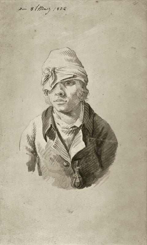"""Caspar David Friedrich """"Selbstbildnis mit Mütze""""  107 x 175 cm 1"""