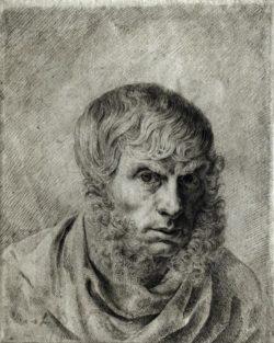 "Caspar David Friedrich ""Selbstbildnis""  182 x 230 cm"