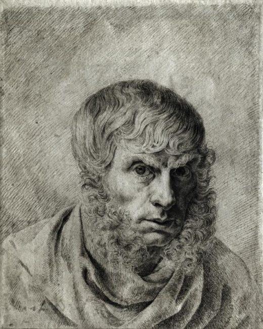 "Caspar David Friedrich ""Selbstbildnis""  182 x 230 cm 1"