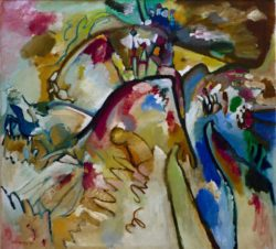 "Wassily Kandinsky ""Improvisation"" 105 x 96 cm"