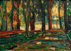 "Wassily Kandinsky ""Im Parkon Saint Cloud"" 37 x 24 cm"