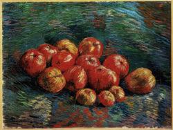 """Vincent van Gogh """"Stilleben mit aepfeln"""", 46 x 61,5 cm"""