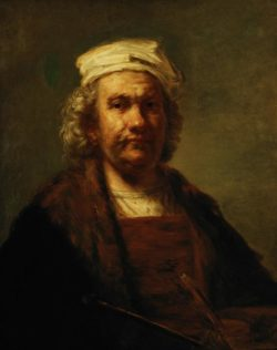 "Rembrandt ""Rembrand-Selbstbildnis"" 81 x 65 cm"