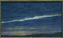"Caspar David Friedrich ""Abend""  22 x 14 cm"
