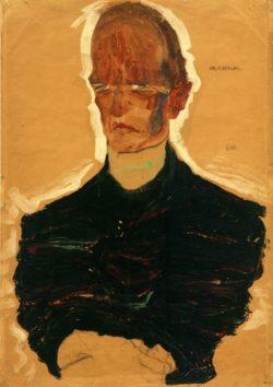 "Egon Schiele ""Bildnis Oskar Reichel"" 31 x 45 cm"