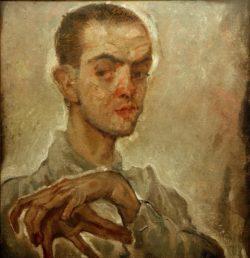 """Egon Schiele """"Gemälde von Oppenheimer"""" 45 x 47 cm"""