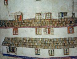 "Egon Schiele ""Fenster"" 140 x 110 cm"