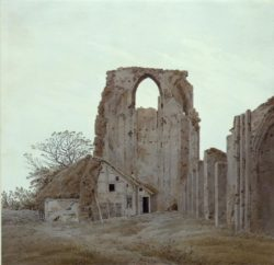 "Caspar David Friedrich ""Abtei bei Greifswald""  235 x 227 cm"