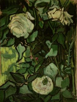 """Vincent van Gogh """"Rosen und ein Kaefer"""" 32,5 x 23,5 cm"""