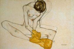 """Egon Schiele """"Weiblicher Akt"""" 47 x 31 cm"""