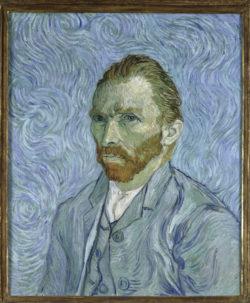 "Vincent van Gogh ""Selbstbildnis"". 65 x 54,5 cm"