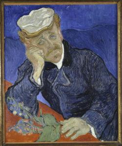 """Vincent van Gogh """"Bildnis Doktor Gachet mit Fingerhutzweig"""". Auvers-sur-Oise 68 x 57 cm"""