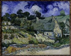 """Vincent van Gogh """"Strohgedeckte Haeuser in Cordeville 75 x 92 cm"""