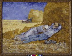 """Vincent van Gogh """"La méridienne"""" oder """"La sieste"""", 73 x 91 cm"""
